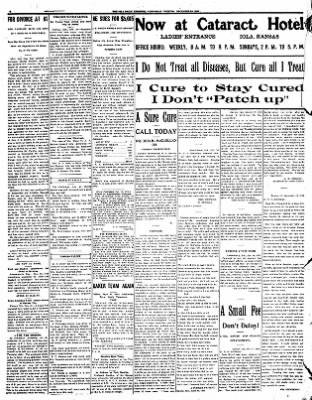 Iola Daily Register And Evening News from Iola, Kansas on December 30, 1908 · Page 6