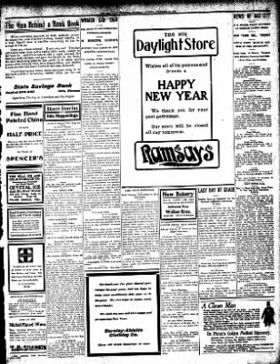 Iola Daily Register And Evening News from Iola, Kansas on December 31, 1908 · Page 5