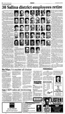 The Salina Journal from Salina, Kansas on April 29, 2001 · Page 34