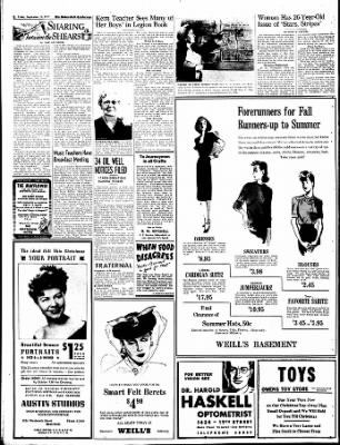 The Bakersfield Californian from Bakersfield, California on September 15, 1944 · Page 8