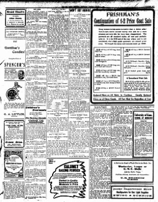 Iola Daily Register And Evening News from Iola, Kansas on January 15, 1908 · Page 5