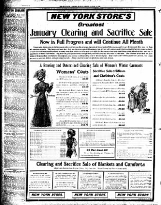 Iola Daily Register And Evening News from Iola, Kansas on January 4, 1909 · Page 6