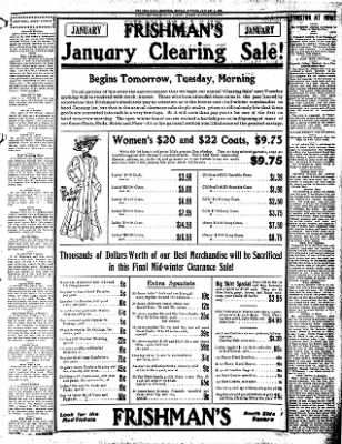 Iola Daily Register And Evening News from Iola, Kansas on January 4, 1909 · Page 7