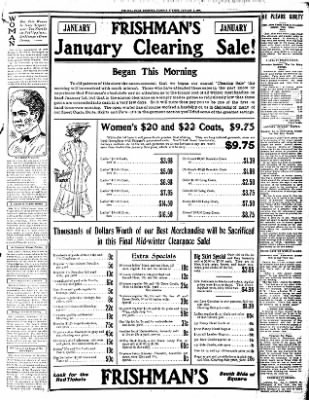 Iola Daily Register And Evening News from Iola, Kansas on January 5, 1909 · Page 7