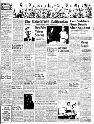 The Bakersfield Californian from Bakersfield, California on September 18, 1944 · Page 9