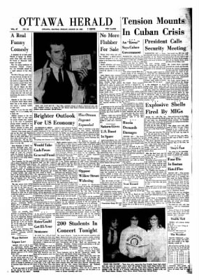 The Ottawa Herald from Ottawa, Kansas on March 29, 1963 · Page 1