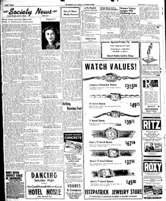 The Courier News from Blytheville, Arkansas on June 26, 1947 · Page 4