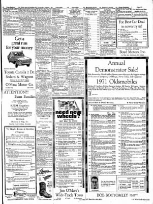 The Hutchinson News from Hutchinson, Kansas on October 7, 1971 · Page 49
