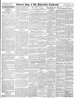 The Bakersfield Californian from Bakersfield, California on September 23, 1944 · Page 12