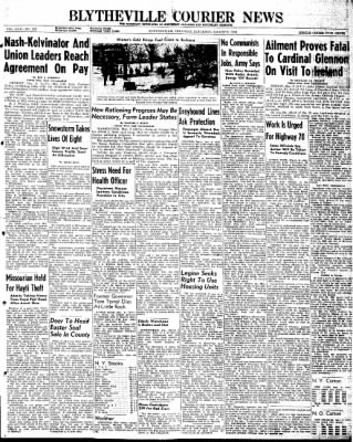 The Courier News from Blytheville, Arkansas on March 9, 1946 · Page 1