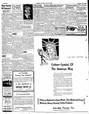The Courier News from Blytheville, Arkansas on May 1, 1950 · Page 2
