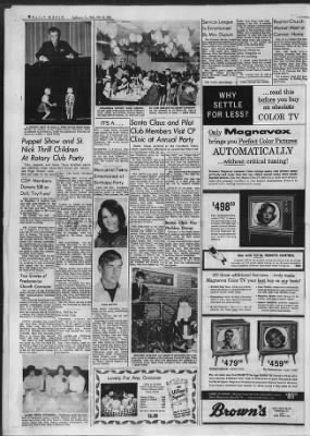 Daily World from Opelousas, Louisiana on December 14, 1966