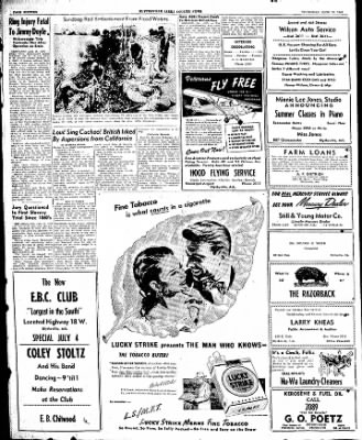The Courier News from Blytheville, Arkansas on June 26, 1947 · Page 10