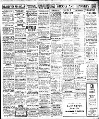 The Bakersfield Californian from Bakersfield, California on September 8, 1936 · Page 17