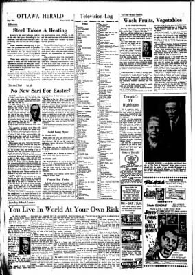 The Ottawa Herald from Ottawa, Kansas on April 5, 1963 · Page 4