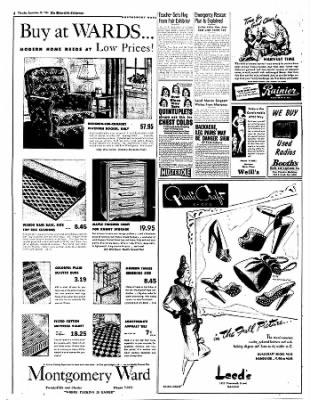 The Bakersfield Californian from Bakersfield, California on September 28, 1944 · Page 4