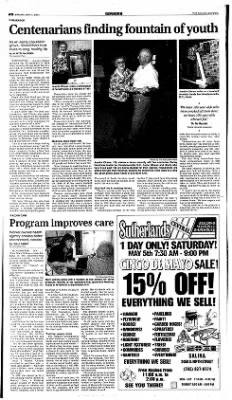 The Salina Journal from Salina, Kansas on May 4, 2001 · Page 10