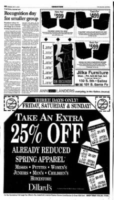 The Salina Journal from Salina, Kansas on May 4, 2001 · Page 12