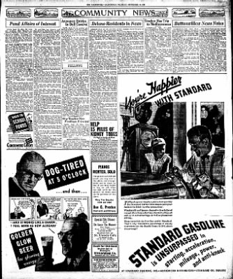 The Bakersfield Californian from Bakersfield, California on September 10, 1936 · Page 7