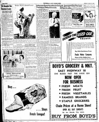 The Courier News from Blytheville, Arkansas on June 27, 1947 · Page 4