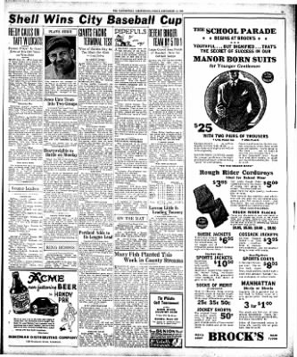 The Bakersfield Californian from Bakersfield, California on September 11, 1936 · Page 15
