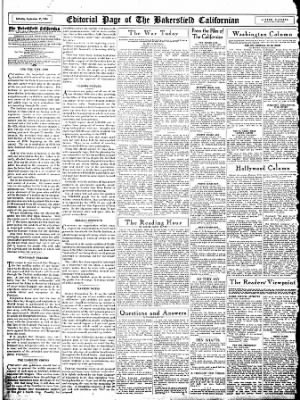 The Bakersfield Californian from Bakersfield, California on September 30, 1944 · Page 12