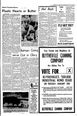 The Courier News from Blytheville, Arkansas on January 25, 1968 · Page 3