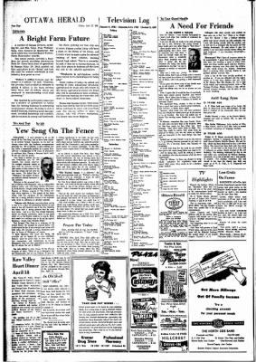 The Ottawa Herald from Ottawa, Kansas on April 12, 1963 · Page 4