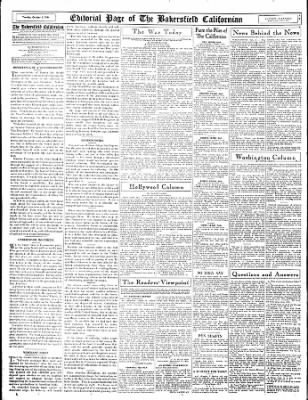 The Bakersfield Californian from Bakersfield, California on October 3, 1944 · Page 14