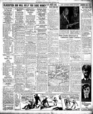 The Bakersfield Californian from Bakersfield, California on September 15, 1936 · Page 17
