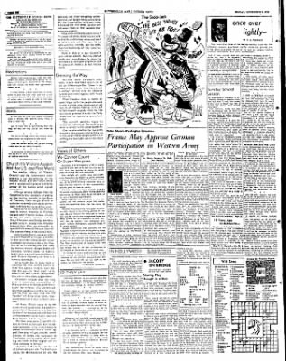 The Courier News from Blytheville, Arkansas on November 2, 1951 · Page 6
