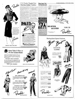 The Bakersfield Californian from Bakersfield, California on October 5, 1944 · Page 3