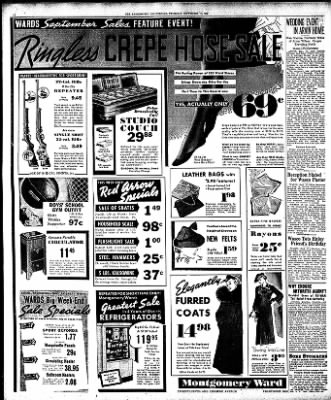 The Bakersfield Californian from Bakersfield, California on September 17, 1936 · Page 10