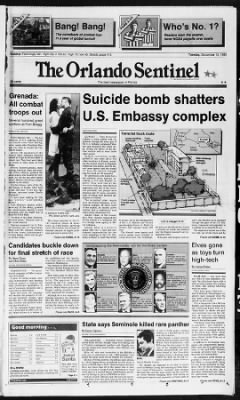 The Orlando Sentinel from Orlando, Florida on December 13, 1983 · Page 63