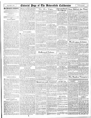 The Bakersfield Californian from Bakersfield, California on October 6, 1944 · Page 16