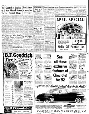 The Courier News from Blytheville, Arkansas on April 23, 1952 · Page 3