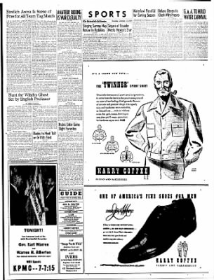 The Bakersfield Californian from Bakersfield, California on October 12, 1944 · Page 15