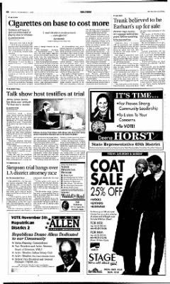 The Salina Journal from Salina, Kansas on November 1, 1996 · Page 6