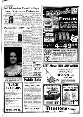 The Ottawa Herald from Ottawa, Kansas on May 1, 1963 · Page 6