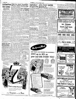 The Courier News from Blytheville, Arkansas on October 13, 1949 · Page 10