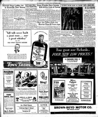 The Bakersfield Californian from Bakersfield, California on September 25, 1936 · Page 6