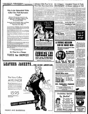 The Bakersfield Californian from Bakersfield, California on October 16, 1944 · Page 2