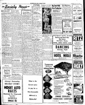 The Courier News from Blytheville, Arkansas on June 30, 1947 · Page 2