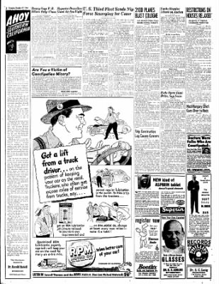 The Bakersfield Californian from Bakersfield, California on October 17, 1944 · Page 2