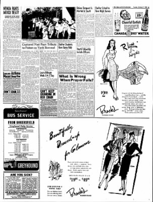 The Bakersfield Californian from Bakersfield, California on October 17, 1944 · Page 3