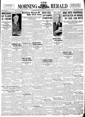 The Morning Herald from Hagerstown, Maryland on January 11, 1938 · Page 1