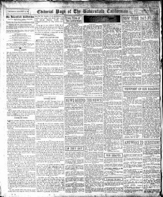 The Bakersfield Californian from Bakersfield, California on September 30, 1936 · Page 14