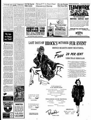 The Bakersfield Californian from Bakersfield, California on October 23, 1944 · Page 3