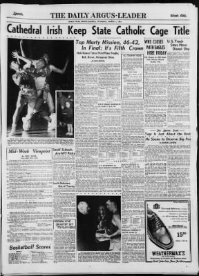 Argus Leader From Sioux Falls South Dakota On March 1 1951 Page 13