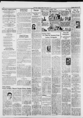 Argus Leader From Sioux Falls South Dakota On March 6 1951 Page